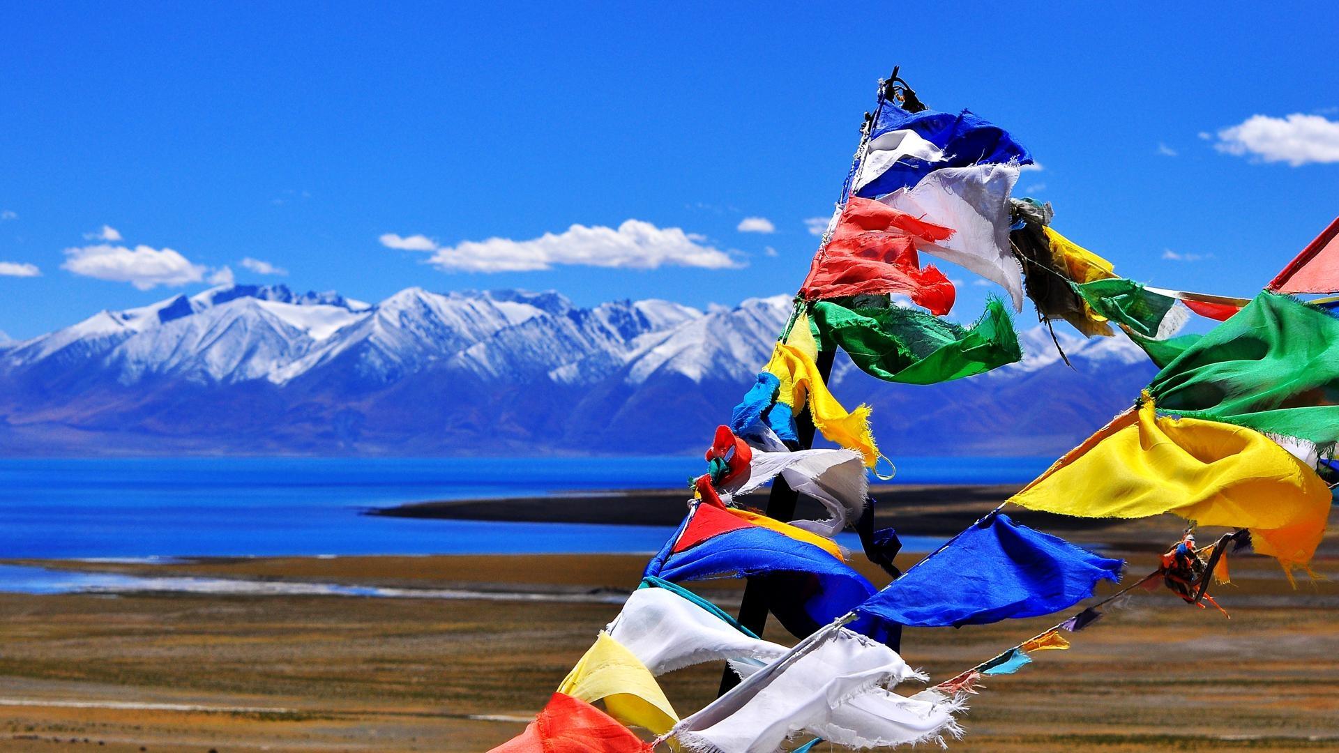 西藏电网地理接线图