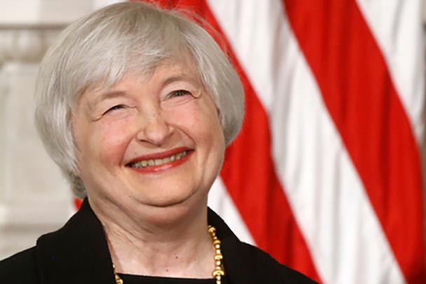 美财长耶伦:美国通胀风险仍低,处于可控水平