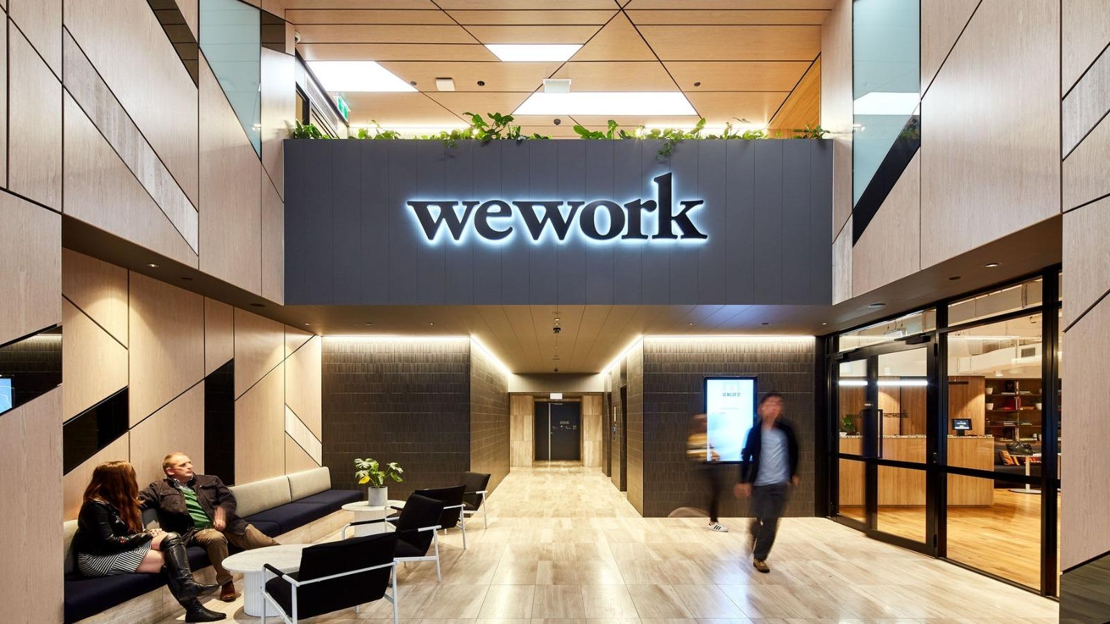 """两年后的""""复出"""":共享办公巨头WeWork终于成功登陆纽交所,收涨超13%"""