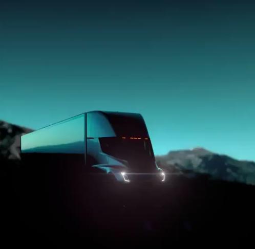 电动卡车概念图