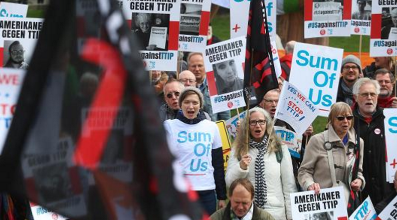 TTIP要黄?法国人说都是美国的错
