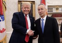 美国总统特朗普会见习近平主席特使、国务院副总理刘鹤