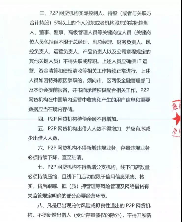 深圳互金协会:十条自律规定 保障出借人的合法权益2