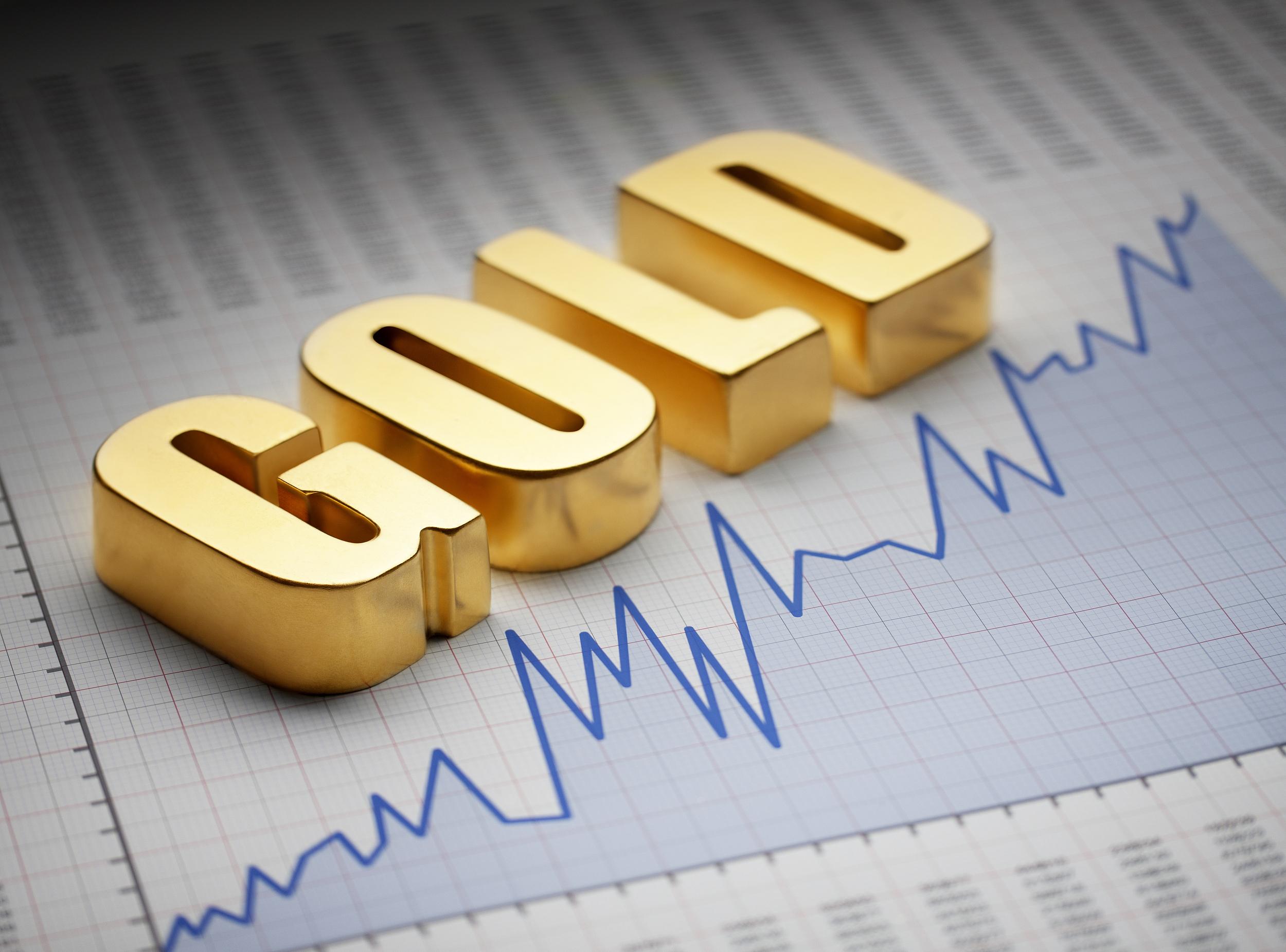 黄金|比特币低迷之际 金价创三个月新高