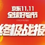 """京东大促""""收官"""":11天累计下单额超1271亿 同比增超50%"""