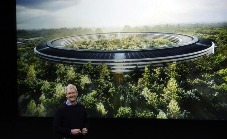 """互联网""""壕时代""""象征:苹果50亿美元打造全球最大智能化总部 - 木买蚂蚁 - hfzhangping的博客"""