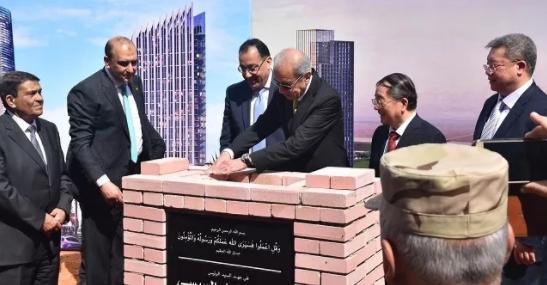 """手机买时时彩的app:非洲第一高楼""""中国造""""_中建将为埃及打造首都新CBD"""