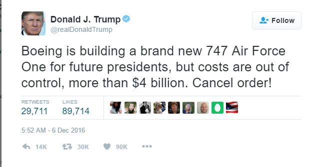 20161206Trump Twitter