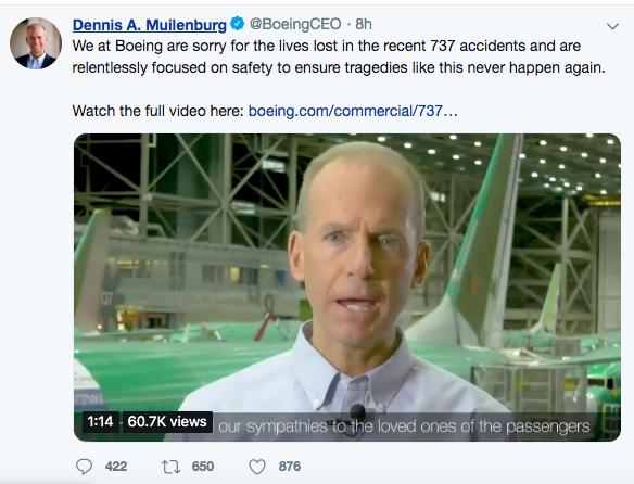 [新聞] 波音承認空難與軟件系統有關 但仍對737 M