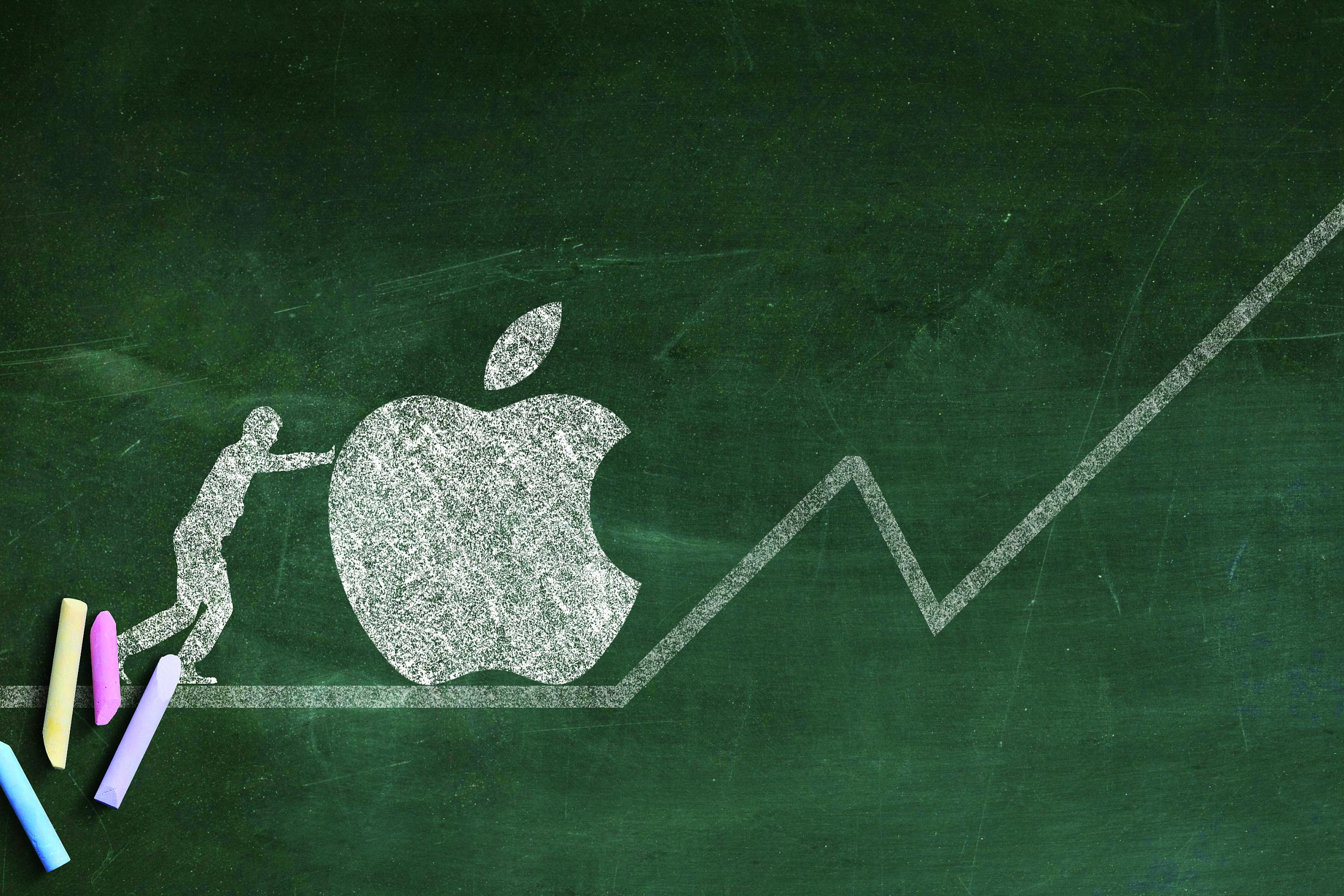 苹果|新机发行周期临近 苹果股价再创新 市值达到2.4万亿美元