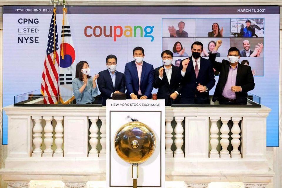"""美股IPO:美股近两年来最大IPO! """"韩国亚马逊""""Coupang首日股价一度翻倍"""